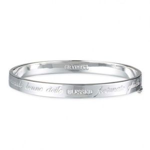 Stella & Dot Inspiration Blessed Bangle Bracelet